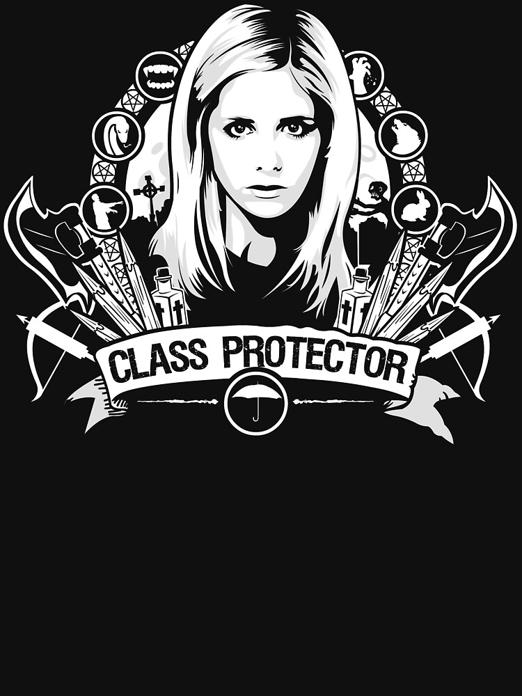 TShirtGifter presents: Class Protector  | Unisex T-Shirt