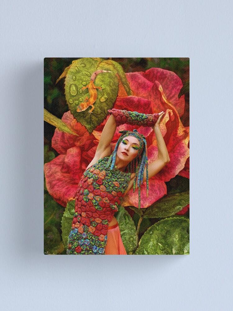 "Alternate view of ""Rainbow Serpent"" Canvas Print"