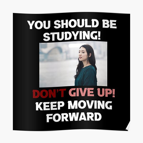 Park Shin Hye [You should be studying] Poster