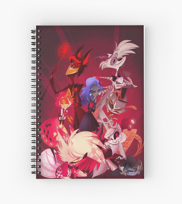 """""""(Original) Hazbin Hotel Cast"""" Spiral Notebooks by ..."""