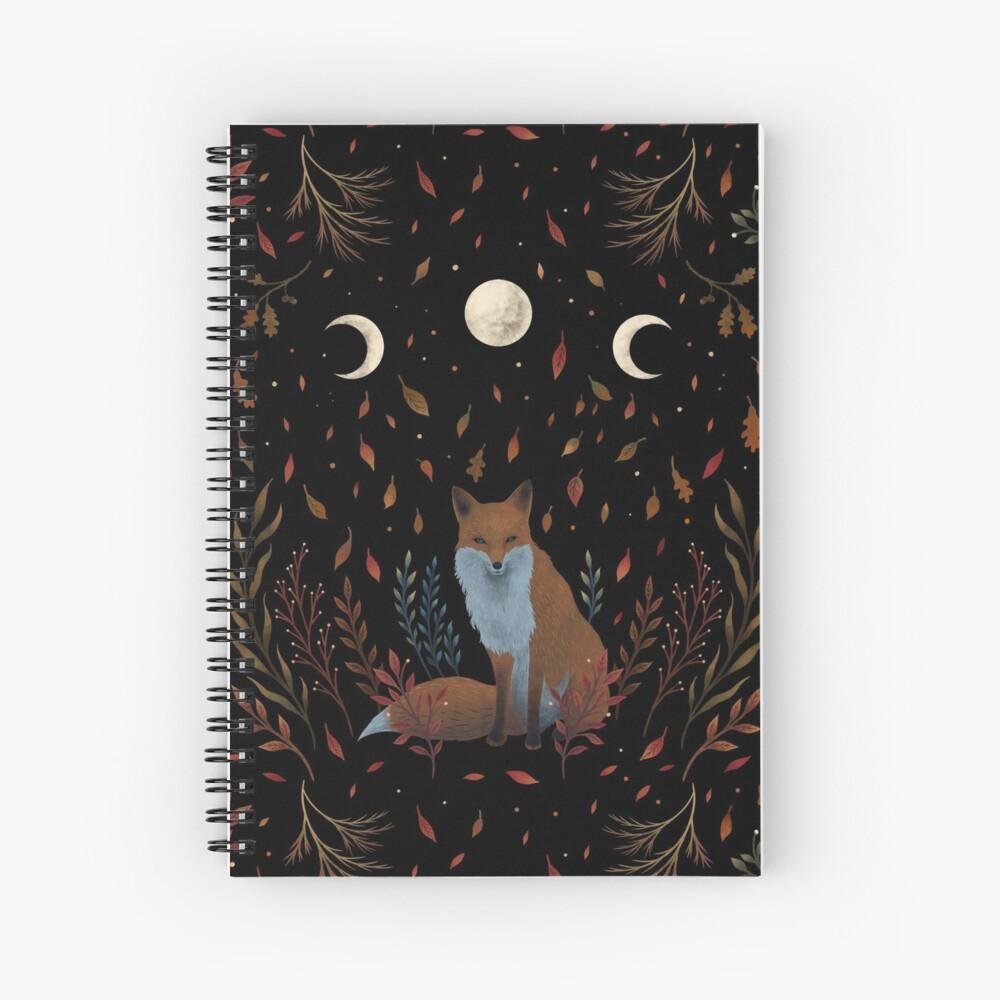 Autumn Fox  Spiral Notebook