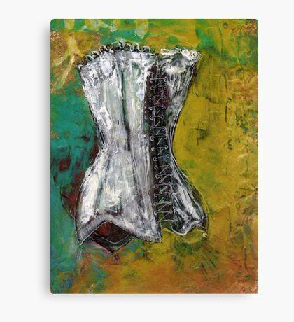 Small Corset #4 Canvas Print