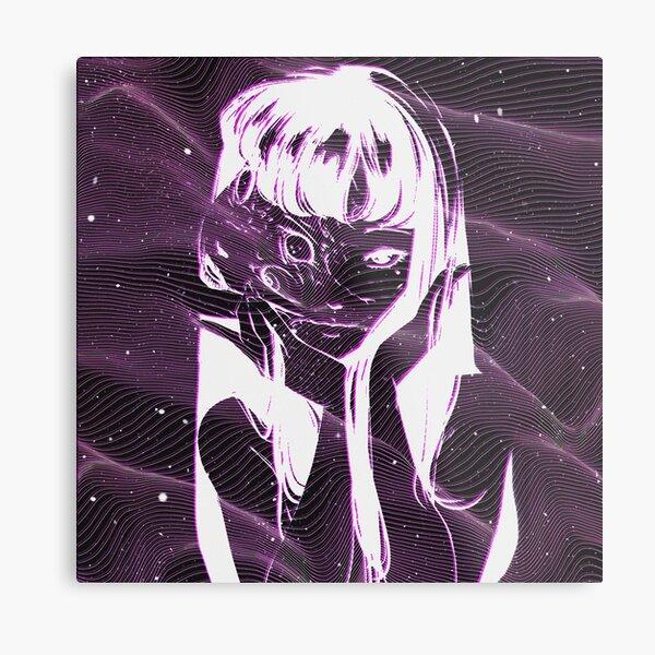 Junji Ito - Tomie Anime Galaxy Metal Print