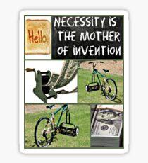 invention Sticker