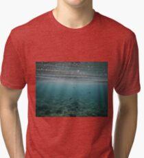 Underwater scape Tri-blend T-Shirt