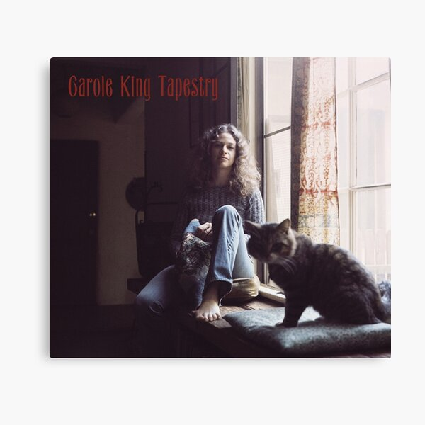 Tapestry - Carole King Canvas Print