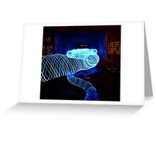 Tunnels of Light Greeting Card