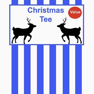 Christmas tee by mactosh