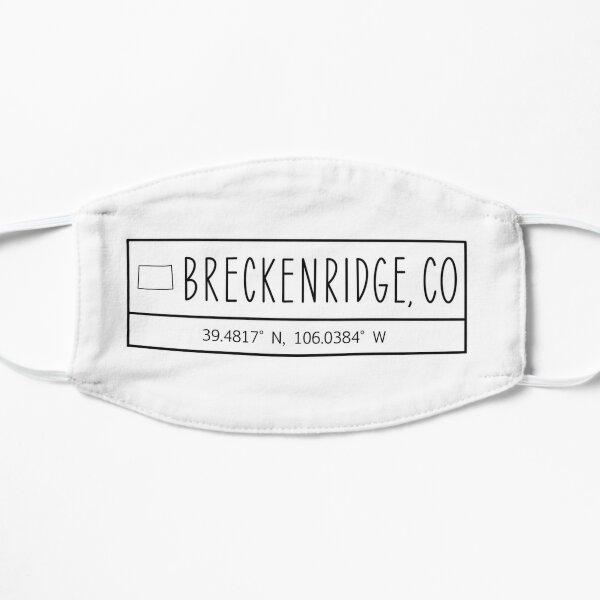Breckenridge Colorado Coordinates Mask
