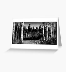 Birch and Beaver Greeting Card