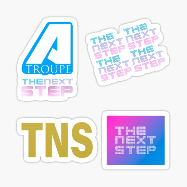 A Troupe The Next Step Pack of 4 Stickers Sticker