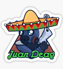 Juan Deag - Counter-Terrorist Sticker