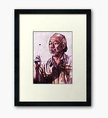 Mr. Miyagi from Karate Kid Gerahmtes Wandbild