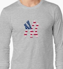 New York Yankees America  Long Sleeve T-Shirt