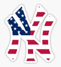 New York Yankees America  Sticker