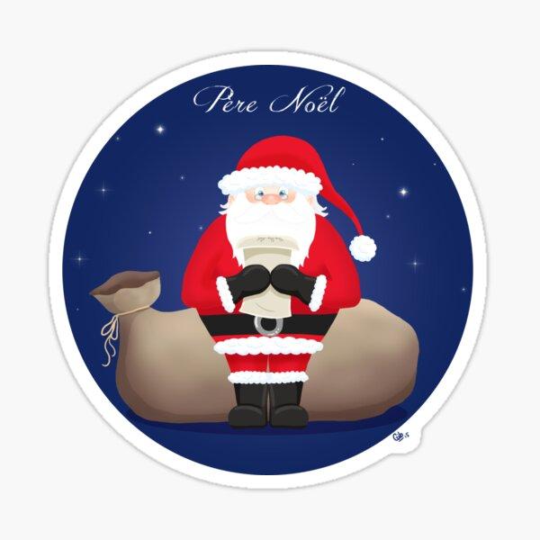 Santa - Père Noël Sticker