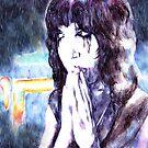 Neon Rain by AaronBir