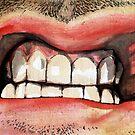 Gritted Teeth by AaronBir