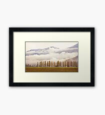 Moody Morning (Colour with Texture) Framed Print