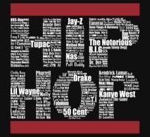 Hip Hop in Black | Unisex T-Shirt