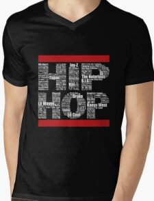 Hip Hop in Black Mens V-Neck T-Shirt