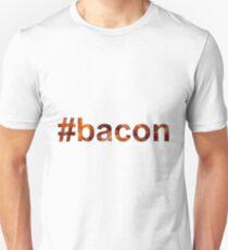 #bacon hashtag bacon texture Unisex T-Shirt