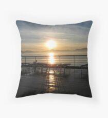 South Of Juneau, Alaska-ms Westerdam Throw Pillow