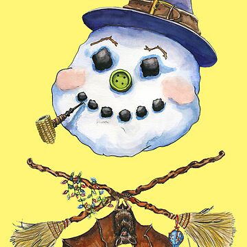 Frosty the Witch by TheresaLammon