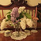 Lilac Bouquet by Pat Yager