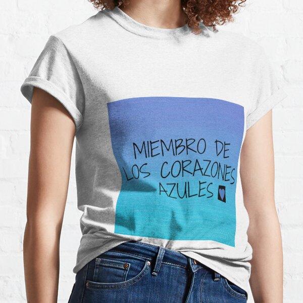 Miembro de los corazones azules Camiseta clásica