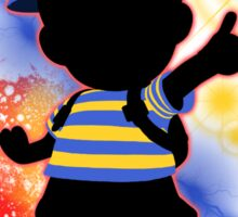 super smash bros ness silhouette kids tees by jewlecho redbubble