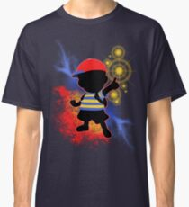 Super Smash Bros. Ness Silhouette Classic T-Shirt