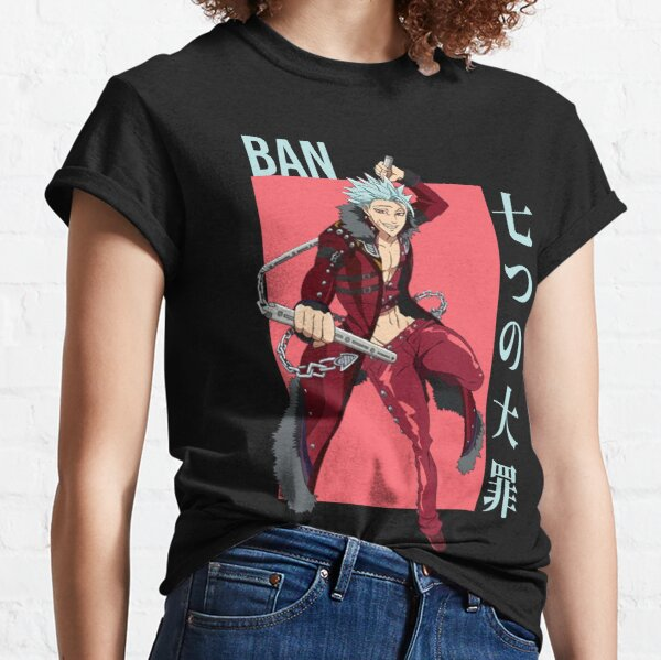 Ban - Seven Deadly Sins anime Classic T-Shirt