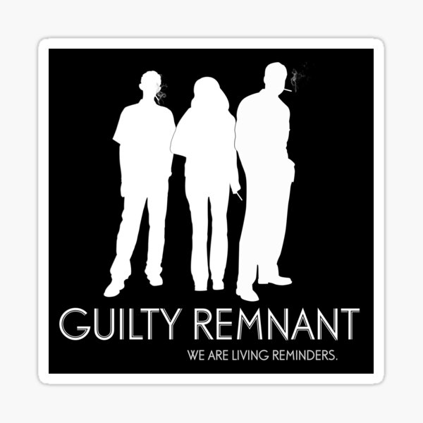 The Leftovers - Guilty Remnant Sticker