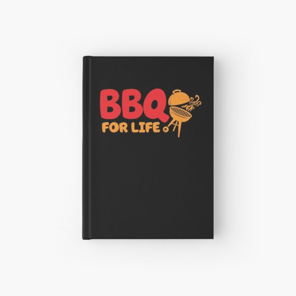 BBQ FOR LIFE Hardcover Journal