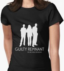 The Leftovers - Guilty Remnant Womens Fitted T-Shirt