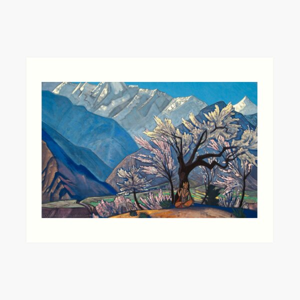 Krishna Spring in Kulu (1930) by Nicholas Roerich Art Print
