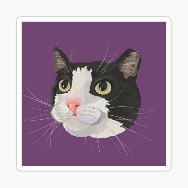 Custom Pet Portrait- Penny Sticker