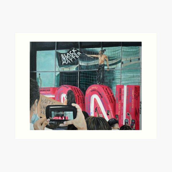 BLM CNN Art Print