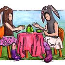 KMAY Hoodkid Bunny Tea by Katherine May
