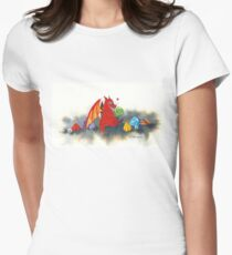 The dragon's collection Women's Fitted T-Shirt
