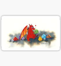 The dragon's collection Sticker