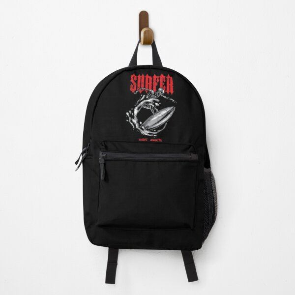 Surfer Metalhead Skeleton Backpack