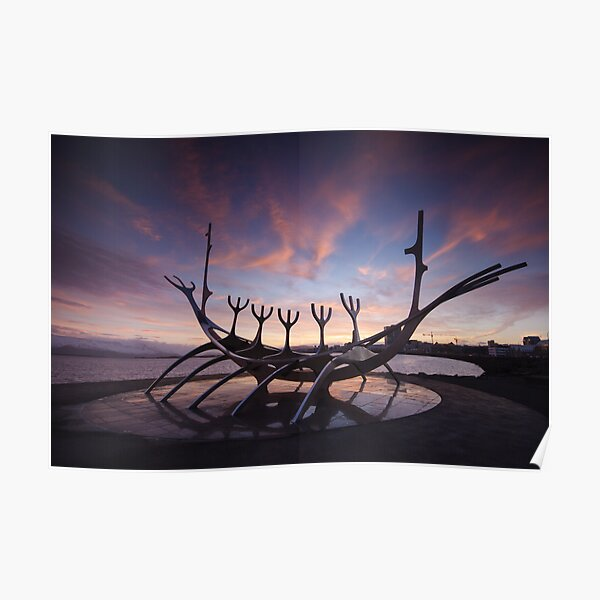 The Viking Ship Poster