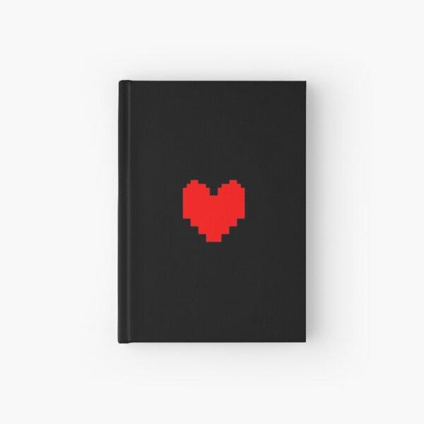 Undertale Heart Hardcover Journal