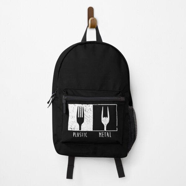 Plastic Vs Metal Fork Backpack