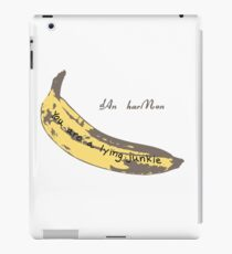 Junkie Banana iPad Case/Skin