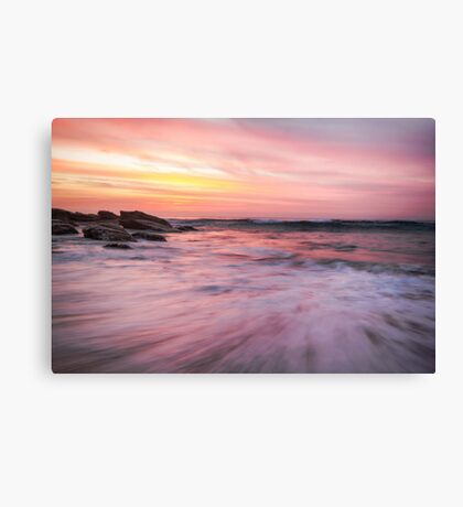 Watercolour Sunrise Canvas Print