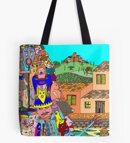 Tuscany intruders Tote Bag