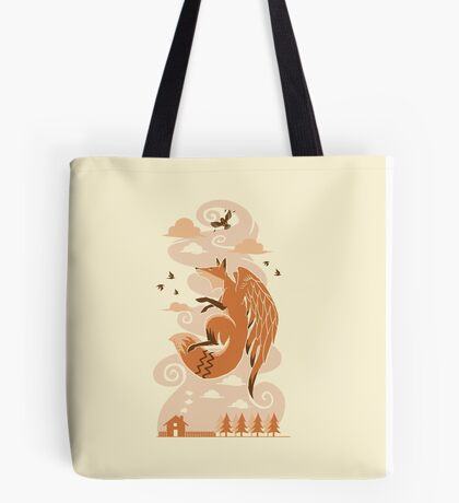 The Flying Fox Tote Bag